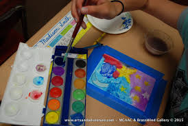 paint u0026 sip watercolor classes by land or