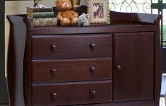 Espresso Changing Table Dresser Using Dressers As Nightstands