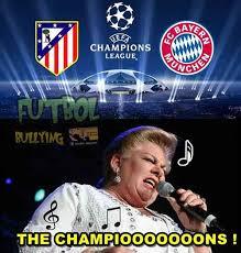 Memes De La Chions League - los memes de la victoria del atl礬tico vs bayern en la semifinal de