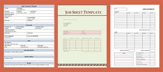 a simple guide to job sheet templates free downloads