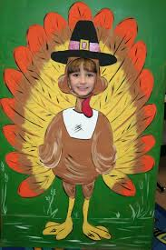 funny thanksgiving clips thanksgiving turkey photo op standee insert face and say