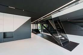 futuristic homes interior a unique house with a special geometry and custom interior