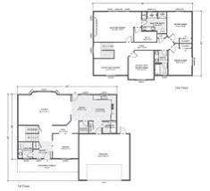customizable floor plans south hton home plan multi level two story home built on