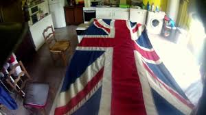 Flag Folded Into Triangle Folding A Union Flag Navy Method Youtube