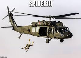 Blackhawk Memes - black hawk parachute jump soldier memes imgflip