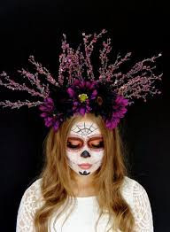 day of the dead headband 34 best collection images on cat ears