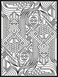complex geometric coloring pages coloring for kids complex