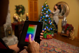 clark griswold would be envious of app enabled christmas lights by