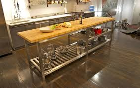 kitchen island with butcher block top sarabi studio