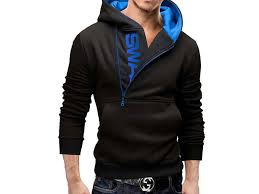stylish men u0027s swag hoodie blue price in pakistan m010191