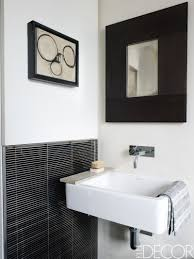 black white and red bathroom home design ideas