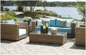Rattan Patio Table Outdoor Wicker Resin Furniture Comfortable Wicker Furniture