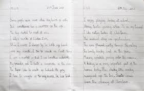 start bee getting handwriting right