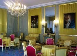 la chambre savoie intérieur de la chambre jaune ou salon jaune du château des ducs de