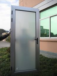 etched glass door beautiful aluminium interior door with white frosted glass and