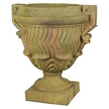 Outdoor Vase Old World Planters Bellacor