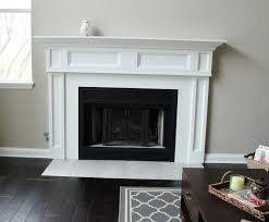 rustic brick fireplace mantel all home decorations binhminh