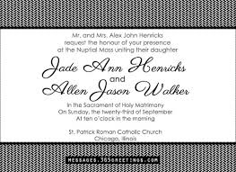 catholic wedding invitations wedding invitation wording 365greetings