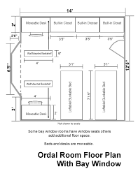 ordal hall floor plans residential life plu