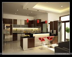 Red Kitchen Decor Ideas by Kitchen Modern Design Of Kitchen Decorating Ideas With Contrast