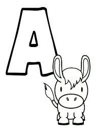 abécédaire animaux à imprimer lettres et chiffres pinterest