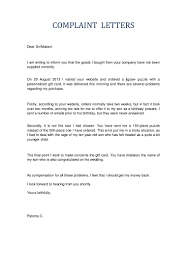 letter to santa template word letters of complaint
