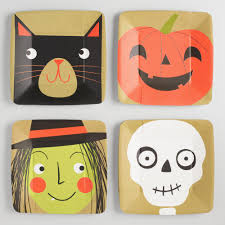 cute halloween cat dining room cute halloween plates dinnerware adorable images of
