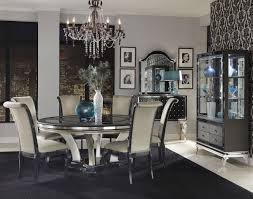 hollywood swank round dining room set project home renewal