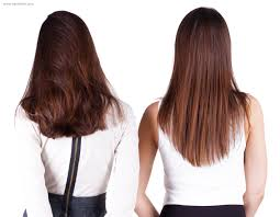 back of hairstyle cut with layers and ushape cut in back cut the back of long hair in a u shape v shape or a straight line