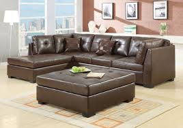 Value City Sectional Sofa by Furniture Best Design Of Brown Leather Sectional For Modern