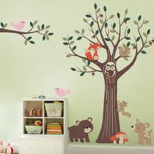 Tree Nursery Wall Decal Wall Decals And Wall Stickers By Simple Shapes