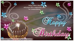Birthday Day Cards May This Day Always Be A Special One To Remember Birthday