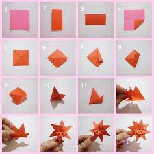 cara membuat bunga dengan kertas hias cara membuat hiasan dinding kamar sendiri dari kertas origami motif