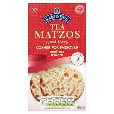 matzos for passover rakusen s tea matzo passover crackers 150g from ocado