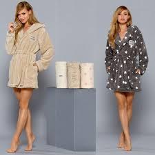 robe de chambre luxe peignoir femme polaire capuche viviane boutique