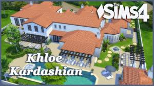 the sims 4 khloe kardashian house build part 3 youtube