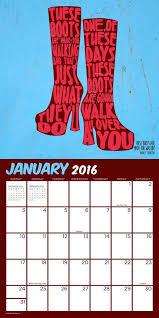 black friday calendar amazon 154 best the coolest 2016 calendars images on pinterest