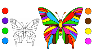 giant butterfly coloring pages draw butterfly coloring