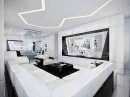 chambre moderne noir et blanc deco chambre interieur moderne appartement en noir et blanc
