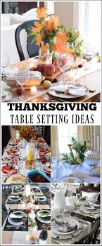 thanksgiving table setting ideas place of my taste