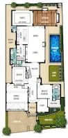 Double Story House Floor Plans The Breakwater 4bed 2bath 2car Flr 1 Architecture Plans
