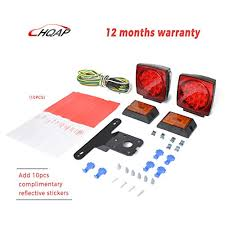 led trailer tail lights hqap 2018 new 12v submersible led trailer tail light kit new