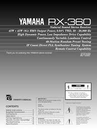 ub 04 manual download free pdf for yamaha kx 500 tape deck manual