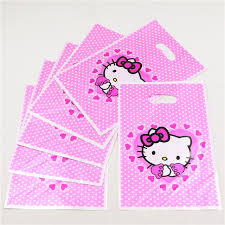 hello gift bags wholesale 10pcs lot hello plastic shipping bag pink gift