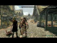 easter egg games skyrim elderscrolls be3 gaming