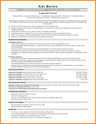 Example Of Teacher Resume Special Education Teaching Resume Example In Elementary
