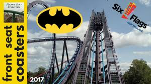 Sandusky Ohio Six Flags Batman The Dark Knight Pov Hd Six Flags New England 2017 Roller