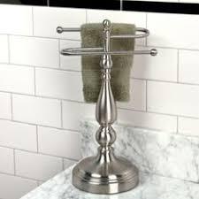 Bathroom Counter Towel Holder Smithfield Free Standing Towel Bar Towels Bathroom Laundry