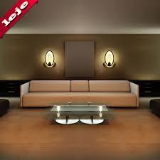 Design Wandleuchten Wohnzimmer Kreative Led Wandleuchte Ellipse Oval Up Down Wandleuchte Für