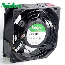 Jual Lu Dc 12v nidec original server fans ta600dc a34969 90 cooling fan 15cm 12v